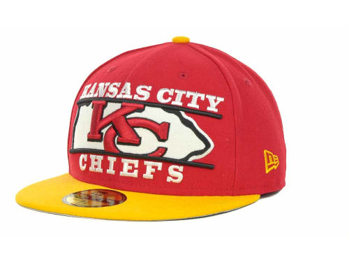 Kansas City Chiefs New Era NFL Logo Zoom 59FIFTY Cap Hats