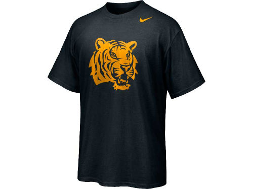 LSU Tigers Nike NCAA Hyper Speed logo MSS T-Shirt