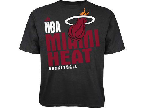 Miami Heat Outerstuff NBA Youth Stacked Extreme T-Shirt