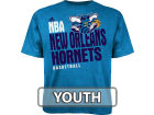 New Orleans Hornets Outerstuff NBA Youth Stacked Extreme T-Shirt T-Shirts