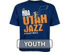 Utah Jazz Outerstuff NBA Youth Stacked Extreme T-Shirt T-Shirts