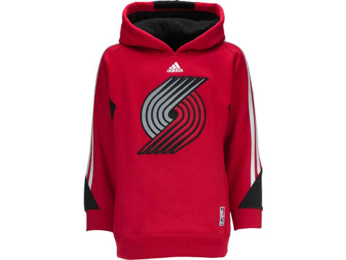 Portland Trail Blazers Outerstuff NBA Youth On Court Hoodie