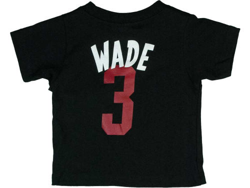 Miami Heat Dwyane Wade adidas NBA Infant Whirlwind Player T-Shirt