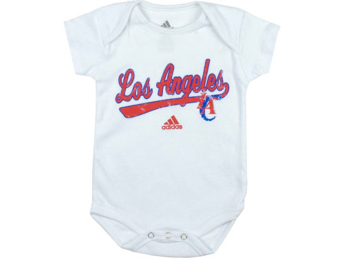 Los Angeles Clippers adidas NBA Newborn 3 Pack Creepers