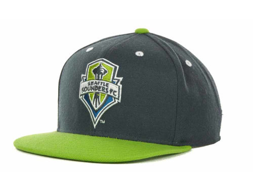 Seattle Sounders FC adidas MLS Summer Tour Snapback Cap Hats