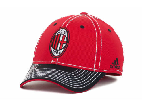 AC Milan adidas MLS Summer Tour Tactel Flex Cap Hats