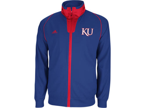 Kansas Jayhawks adidas NCAA On Court Warm Up Jacket