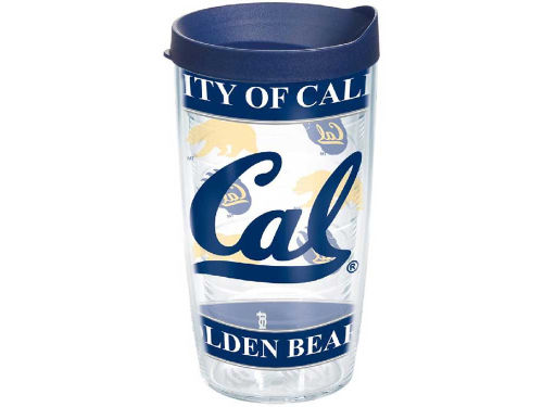 California Golden Bears Tervis Tumbler 16oz Wrap Tumbler With Lid