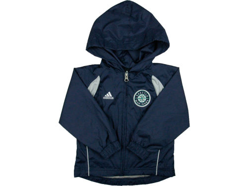 Seattle Mariners adidas MLB Kids Jacket Set