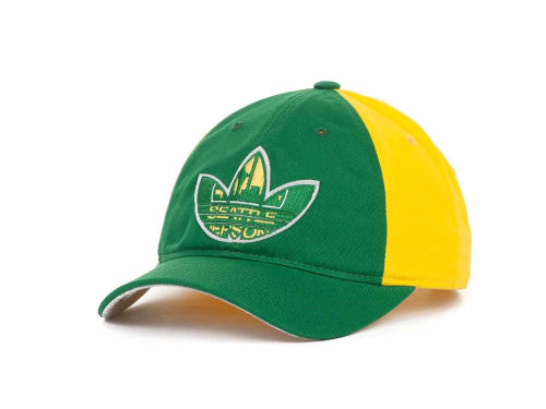 Seattle SuperSonics adidas NBA Trefoil Cap Hats
