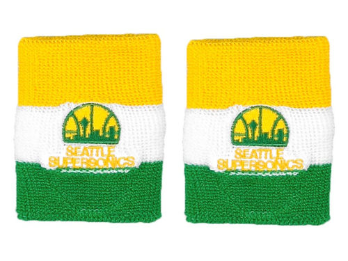 Seattle SuperSonics NBA Wristbands