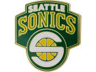 Seattle SuperSonics Wincraft NBA Collector Crest Pin Pins, Magnets & Keychains