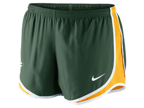 Green Bay Packers Nike NFL Womens Tempo Short
