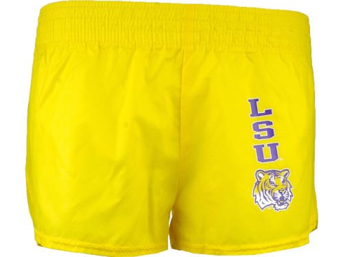 LSU Tigers NCAA Jrs Low Rise Slick Short