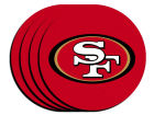 San Francisco 49ers 4pk Neoprene Coaster Set Kitchen & Bar