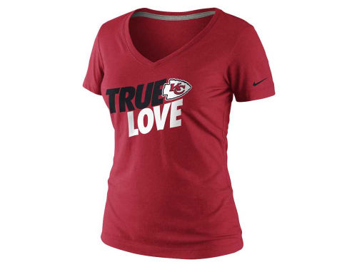 Kansas City Chiefs Nike NFL Womens True Love T-Shirt