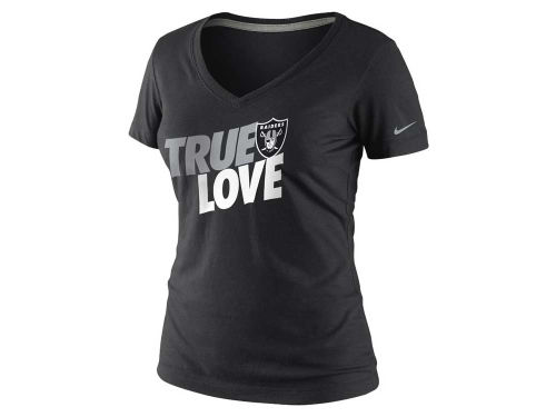 Oakland Raiders Nike NFL Womens True Love T-Shirt