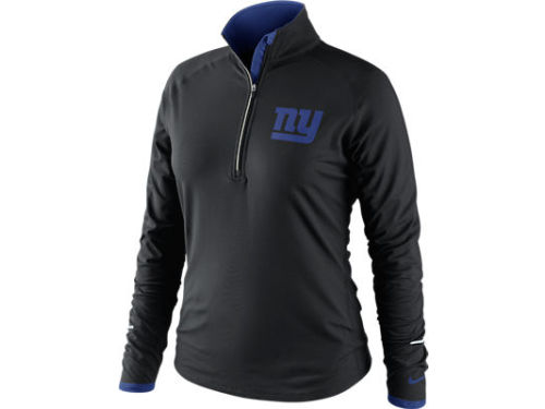 New York Giants Nike NFL Womens Conversion 1/2 Zip Top