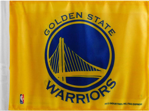 Golden State Warriors Rico Industries Car Flag
