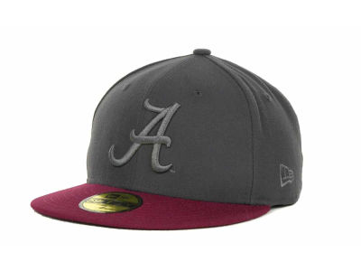 Alabama Crimson Tide NCAA AG Tone 59FIFTY Cap Hats