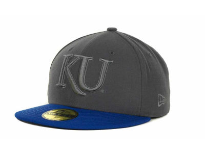Kansas Jayhawks NCAA AG Tone 59FIFTY Cap Hats