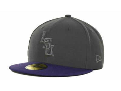 LSU Tigers NCAA AG Tone 59FIFTY Cap Hats