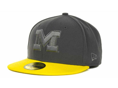 Michigan Wolverines NCAA AG Tone 59FIFTY Cap Hats