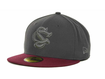 South Carolina Gamecocks NCAA AG Tone 59FIFTY Cap Hats