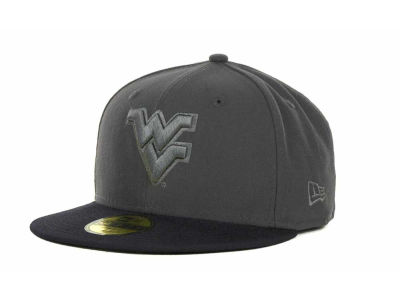 West Virginia Mountaineers NCAA AG Tone 59FIFTY Cap Hats