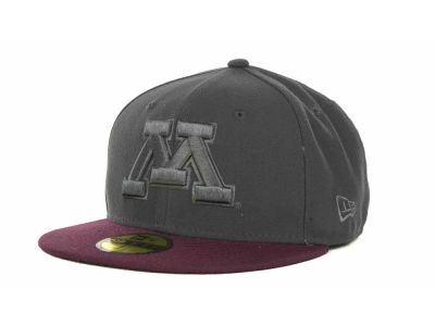Minnesota Golden Gophers NCAA AG Tone 59FIFTY Cap Hats