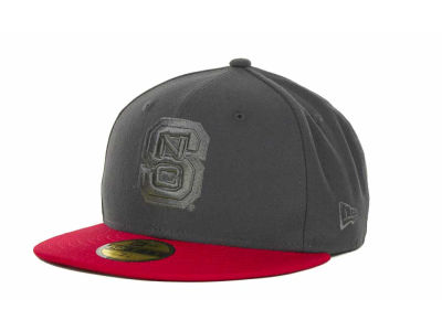 North Carolina State Wolfpack NCAA AG Tone 59FIFTY Cap Hats