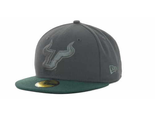 South Florida Bulls New Era NCAA AG Tone 59FIFTY Cap Hats