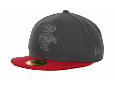 Wisconsin Badgers NCAA AG Tone 59FIFTY Cap Hats