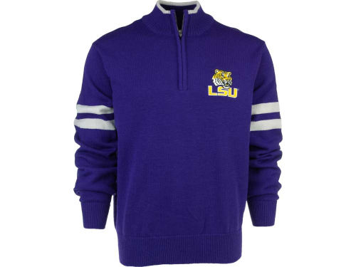 LSU Tigers NCAA VESI 1/4 Zip Pullover