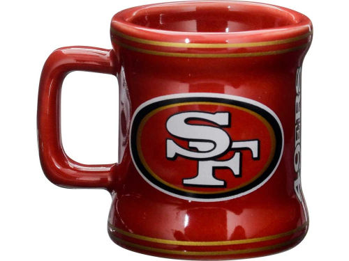San Francisco 49ers Boelter Brands 2oz Mini Mug Shot