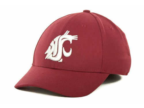 Washington State Cougars Nike NCAA Dri-Fit Swooshflex Cap Hats