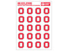 Ohio State Buckeyes Set of Stickers Home Office & School Supplies