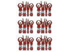 Ohio State Buckeyes Set of Stickers 6 pack Home Office & School Supplies