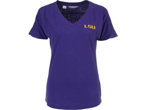 LSU Tigers NCAA Ladies Red Zone V-Neck
