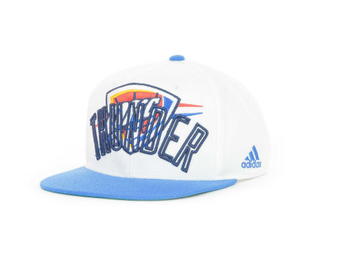Oklahoma City Thunder adidas NBA Double Double Snapback Cap Hats