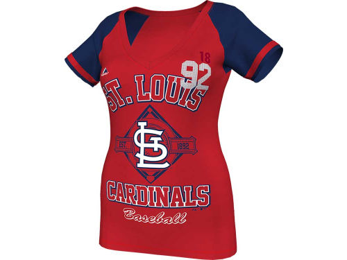 St. Louis Cardinals Majestic MLB Women's This Is My City Fashion T-Shirt