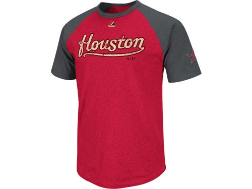 Houston Astros Majestic MLB Big Leaguer Fashion T-Shirt