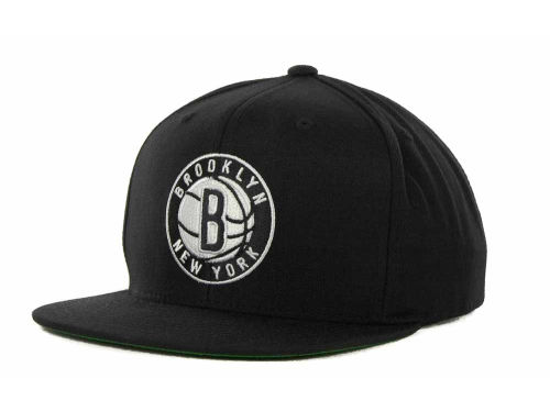 Brooklyn Nets Mitchell and Ness NBA Snap 2012 Hats