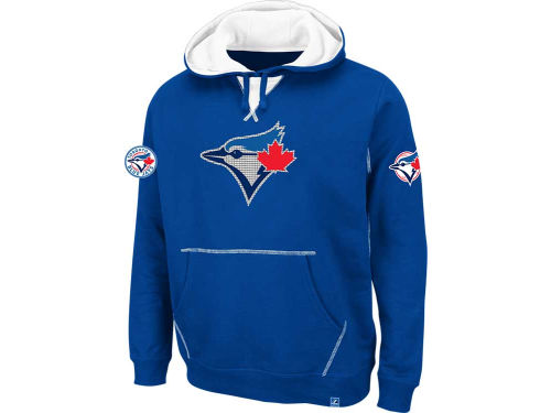 Toronto Blue Jays Majestic MLB True Leader Hooded Fleece