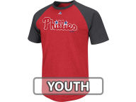 Majestic MLB Youth Big Leaguer Raglan T-Shirt T-Shirts
