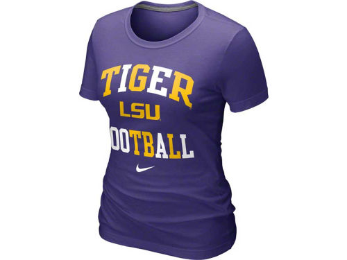 LSU Tigers Nike NCAA Womens Gridiron T-Shirt
