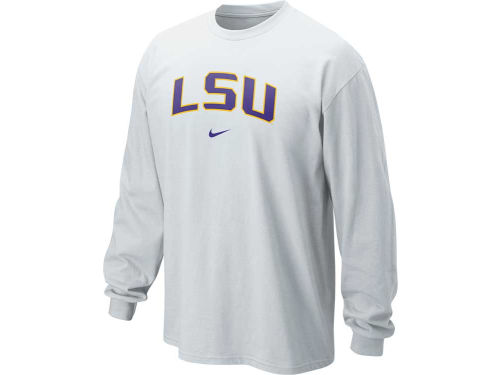 LSU Tigers Nike NCAA Long Sleeve Classic Arch T-Shirt