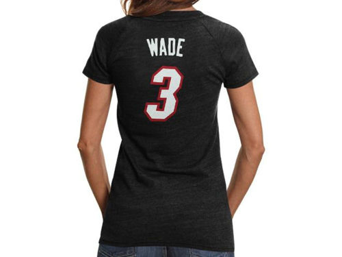 Miami Heat Dwyane Wade adidas NBA Womens Latin Nights Player T-Shirt