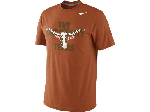 Texas Longhorns Nike NCAA Symbol Triblend T-Shirt