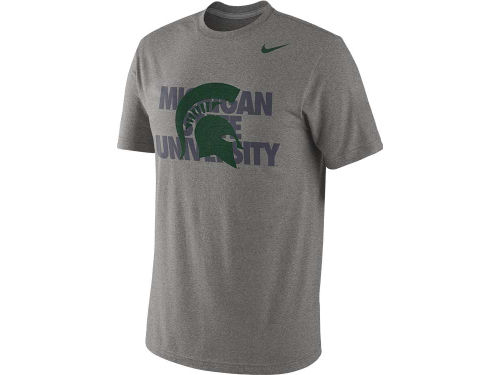 Michigan State Spartans Nike NCAA Symbol Triblend T-Shirt